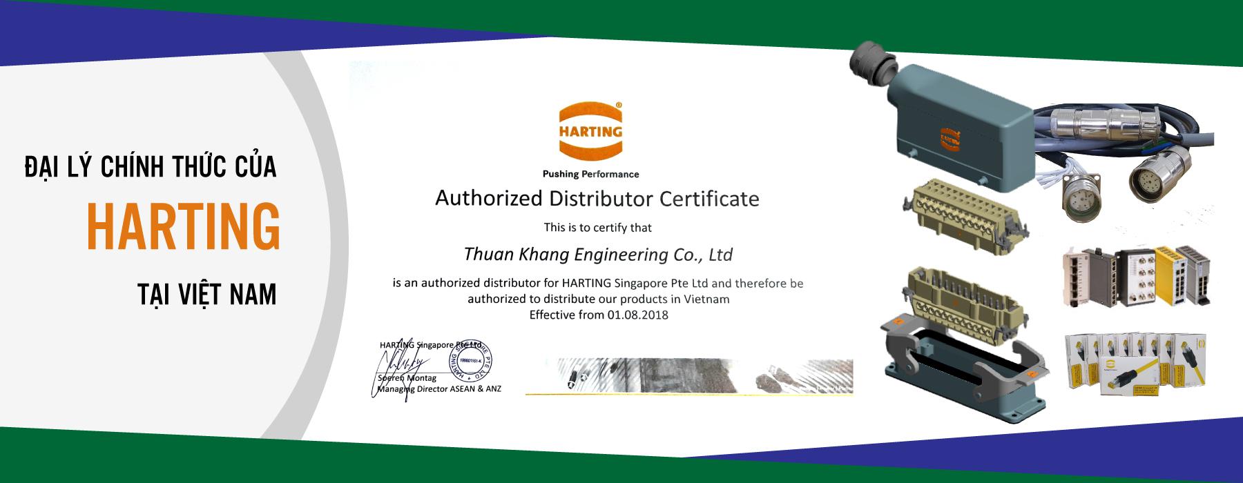 Distributor of Harting in Vietnam