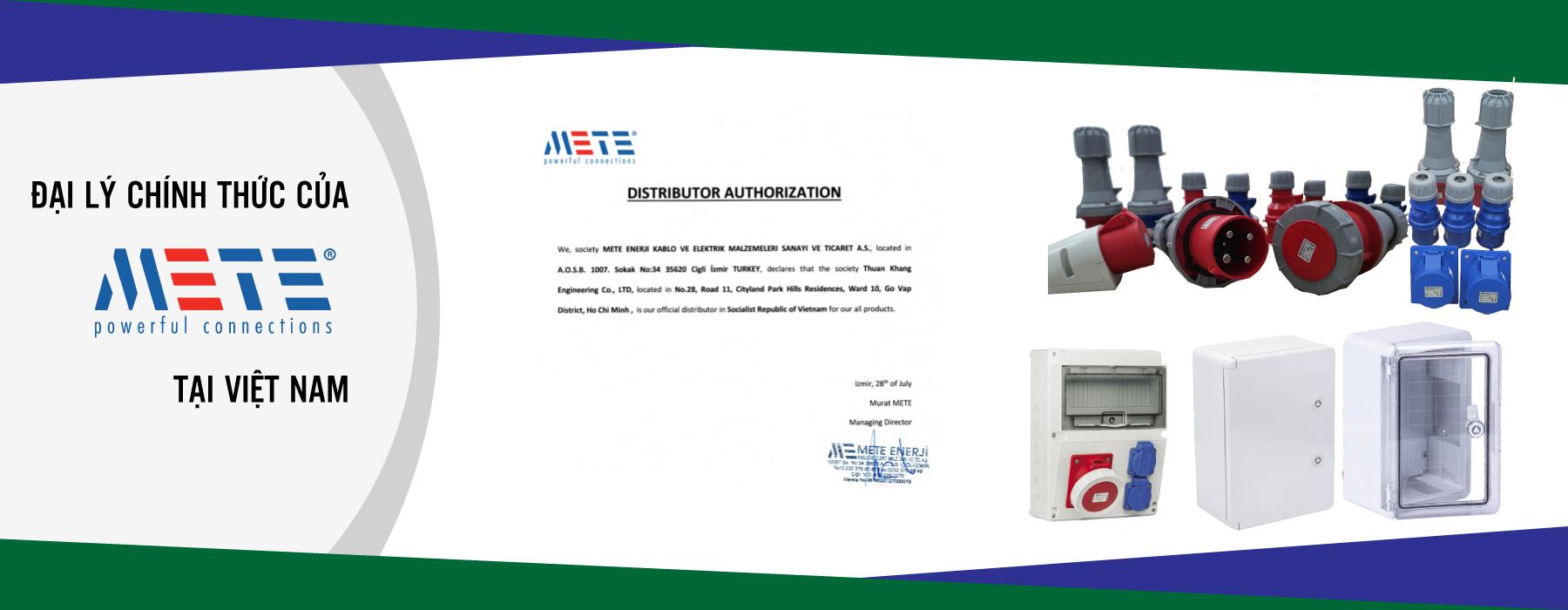 Distributor of Mete Ennerji in Vietnam